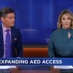 ABC EyeWitness News: Nonprofit works to bring more AEDs to public spaces