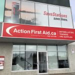 Barrie business unveiling outdoor AED on its south-end building
