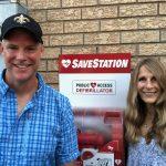 Stroud resident hosts CPR & AED workshop, crowdfunds neighbourhood SaveStation