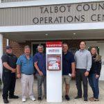 Talbot Paramedic Foundation, Team Trace, Talbot DES partner to Provide Defibrillator SaveStations at North Easton Park!